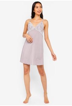 25% OFF DORINA Lianne 2-Tone Night Dress RM 104.00 NOW RM 77.90 Sizes 10 12  14 16 32683bb25