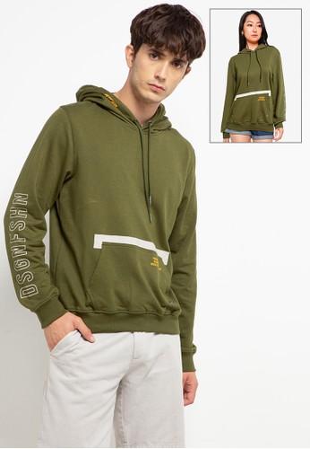 """D&F green Sweat Shirt L/S """"Dsgn"""" BB289AA1EF5979GS_1"""