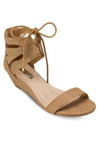 Marble 繫帶低esprit 錶根涼鞋, 女鞋, 鞋