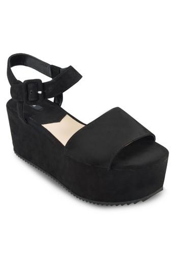 踝帶厚底涼zalora 評價鞋, 女鞋, 鞋