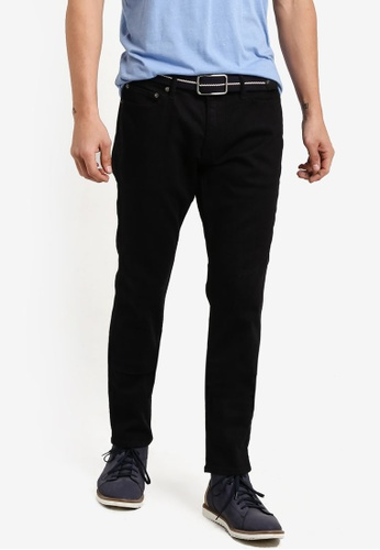 Abercrombie & Fitch black Super Slim Black Jeans AB423AA23IPGMY_1