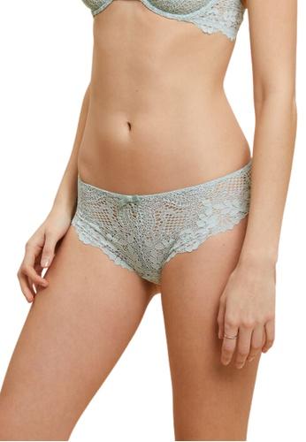 Etam green Success Lace Shorty Panty 78D2EUS67B5E52GS_1
