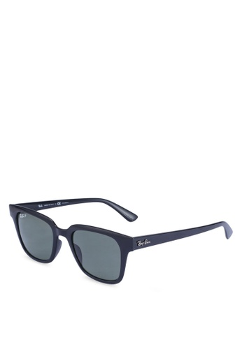 Ray-Ban green Ray-Ban RB4323F Sunglasses 296BAGLF41FA6CGS_1