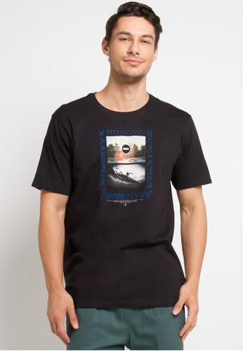 hurley black Dri-Fit Solidad T-Shirt C67FFAAD293FBEGS_1
