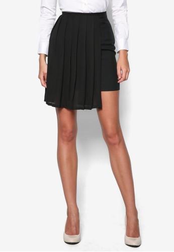 Geraldineesprit衣服目錄 側褶飾短裙, 服飾, 裙子