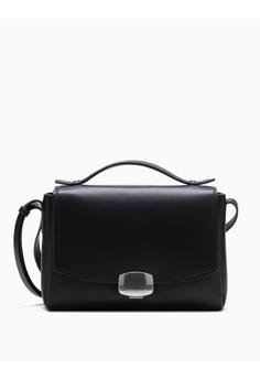 902214393f Calvin Klein black Logo Buckle Crossbody Bag C4750AC0963C4FGS 1