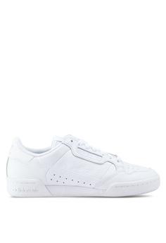 new style 61c1b 53d69 adidas white Continental 80 44B08SH65B9448GS 1