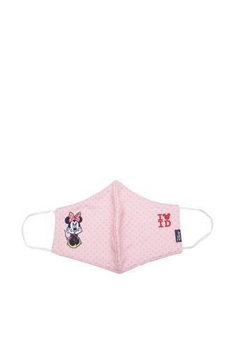 Disney pink Disney Minnie Mouse Masker Kain Dewasa Perempuan 92D81ES1BB05D7GS_1