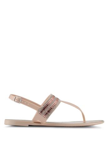 ALDO beige Etiewen Beach Sandals D3A03SH235A06EGS_1
