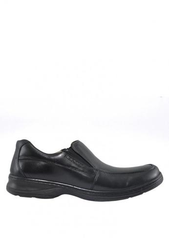 Hush Puppies black Mathias Dress Casual HU326SH92WCLPH_1