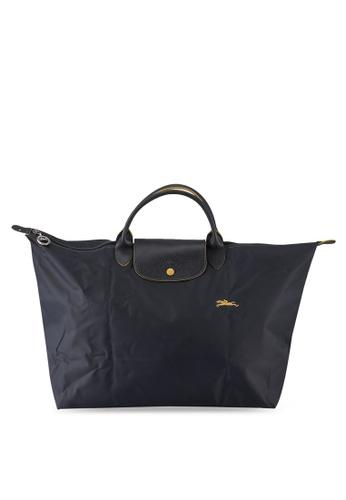 LONGCHAMP grey Le Pliage Club Travel Bag L (nt) 9D18CACB74E608GS_1