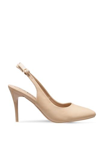 BETSY beige Harper Slingback Heels 03700SH23243F0GS_1
