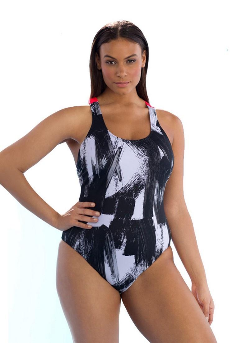Piece Swimwear One multi LXY09443 Lady LYCKA SwOqZCx