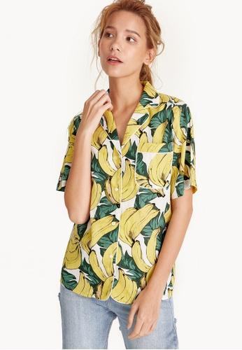 Pomelo multi Tropical Banana Shirt CFE8DAAB4ACAEBGS_1