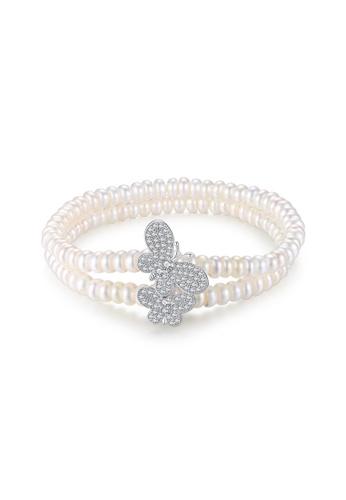 A.Excellence white Premium White Pearl Bracelet 76E33ACFA30707GS_1