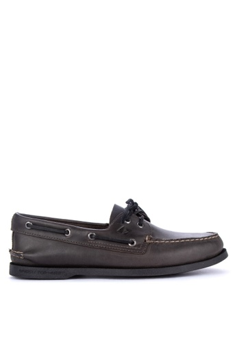 Sperry black A/O 2 -Eye Orleans Loafers 4B9D5SHD1696DDGS_1