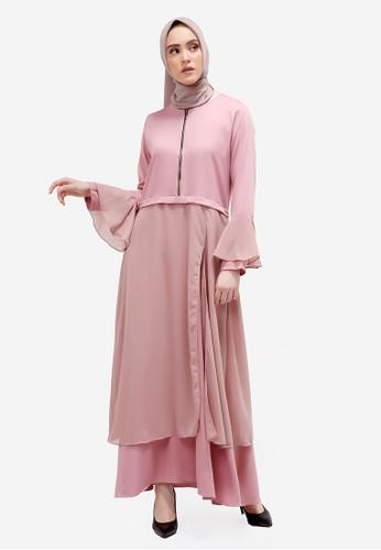 Yumnasa.id pink Yumnasa.id AYDA Dress AF9A1AAB286195GS_1
