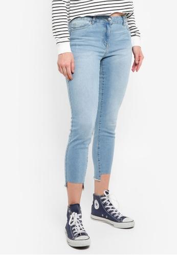 OVS blue Frayed Hem Jeans 107E8AA1962BA2GS_1