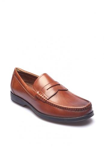 East Rock brown Grenwood Men Formal Shoes 60464SH128221DGS_1