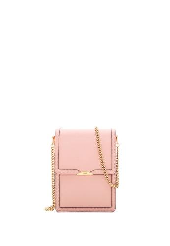 BONIA pink Blush Pink Olivia Top Flap Crossbody II 07CFAACCC804D5GS_1