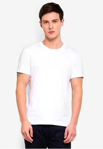 ESPRIT 白色 素色T恤 75AC2AAC5963B6GS_1