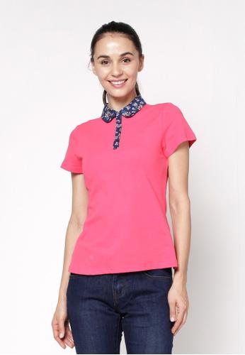 Eighteen Plus pink Slim Polo Shirt 8F4A4AA28DDA71GS_1