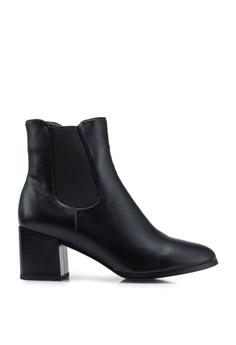 e8c300b0f7b16 BETSY black Hannah Heel Boots B04F4SH56D33EAGS_1