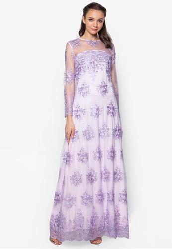 蕾絲A esprit 衣服字長洋裝, 服飾, 洋裝