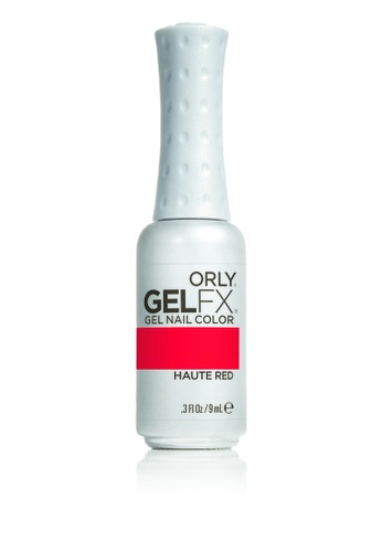 Orly red Orly Gel Fx Color Haute Red .3 Fl Oz 93A3CBEE2F42B8GS_1