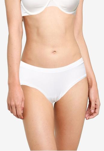 JBS of Denmark white Cotton Hipster Panties 55DAFUSE3C4B51GS_1