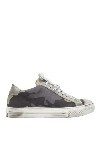 Antony Morato grey Sneaker Low 663F6SH0A72CBFGS_1