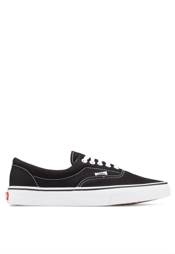 3753ffb14f VANS black Core Classic Era Sneakers VA142SH42LBHMY 1