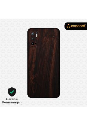 Exacoat Poco M3 Pro 5G Skins Wood Series - Wood Mahogany E4E88ES7303C6CGS_1
