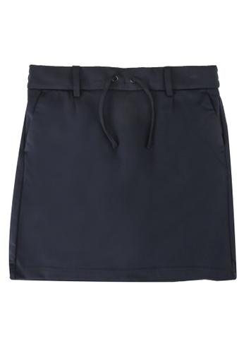 ONLY navy Poptrash Easy Skirt 5438BKACE52160GS_1