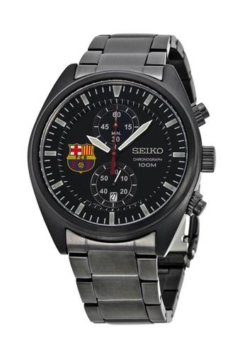Seiko black Seiko Jam Tangan Pria - Black - Stainless Steel - SNN267P1 Barcelona Chronograph SE382AC0V72SID_1