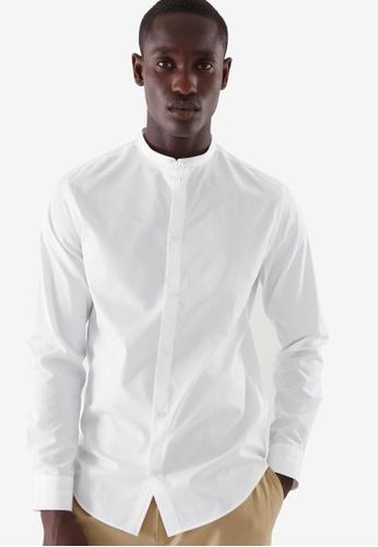 Cos white Regular-Fit Shirt A68B5AA3019FD5GS_1