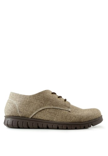 Dane And Dine brown Dane And Dine Sneakers Keren Terbaru KREYA - COFFEE DA735SH0VUHNID_1