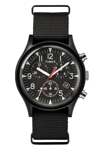 f5fd35949 TIMEX black Timex Men's Watch TW2R67700 Expedition Analog Elevated Aluminum  3F8C6AC7576A64GS_1