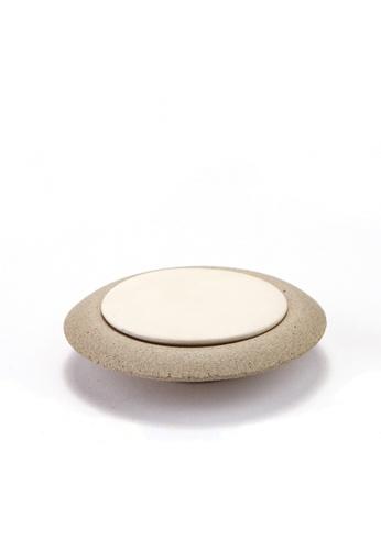 Sensoli Aromatherapy SENCOLI Ceramic Stone 8CM with Ssucer FAC24HL509C069GS_1