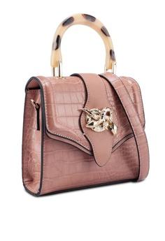 ceb4d7de0b76 TOPSHOP Twist Snake Cross Body Bag RM 169.00. Sizes One Size