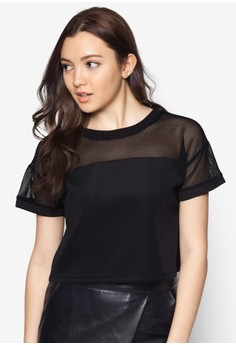 Pieced Boxy Top