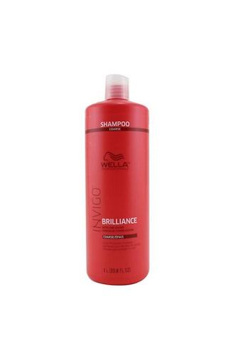 Wella WELLA - Invigo Brilliance Color Protection Shampoo - # Coarse 1000ml/33.8oz D1B86BE8CBA020GS_1