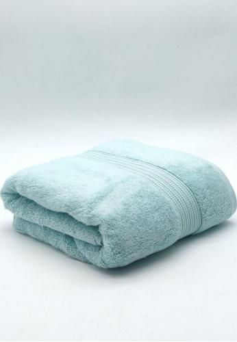 CANOPY LUXE green Hydrocotton Bath Towel Aquamarine B41E4HL163A4A2GS_1
