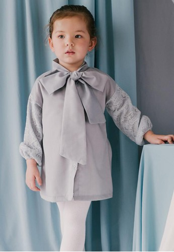Piccola grey Feather and Flynn Malika Shirt Dress 42AF9KA25D966AGS_1