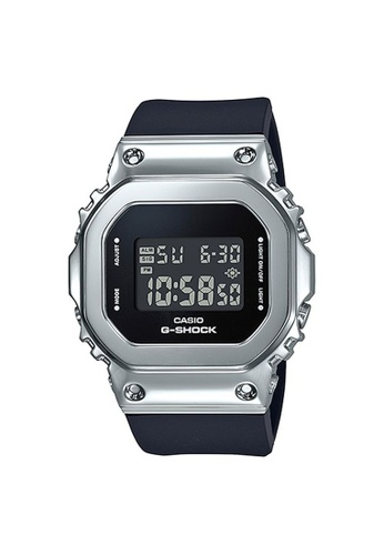 G-SHOCK black and silver CASIO G-SHOCK METAL GM-S5600-1 064A8AC4A34069GS_1