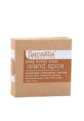 Sensatia Botanicals n/a Sensatia Botanicals Island Spice Shea Butter Soap - 125 gr 49AFFBE7395267GS_1