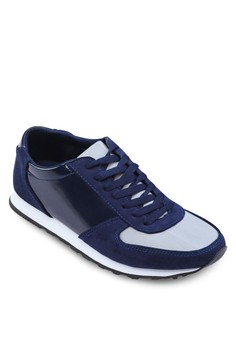 Xm - Mixed Material Sneakers