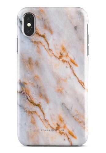 Polar Polar brown Coffee Cream Dual-Layer Tough Case Glossy For iPhone XS Max 28B6DAC4FFEC01GS_1