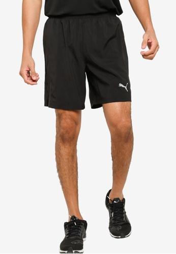 "PUMA black Favourite Woven 7"" Session Men's Shorts B333FAA5BCF1A0GS_1"
