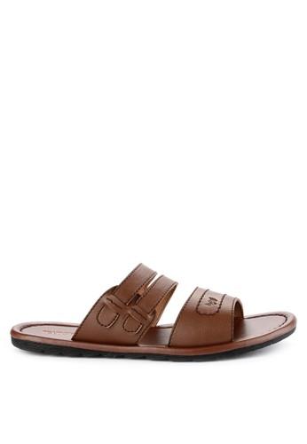 Watchout! Shoes brown Sandals Slip On F9CF8SH9160C06GS_1